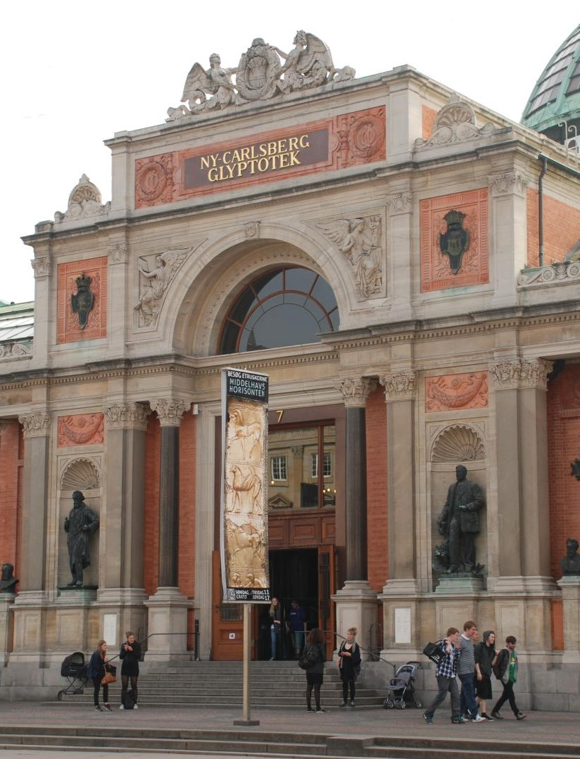 Image of Glyptoteket's entrance