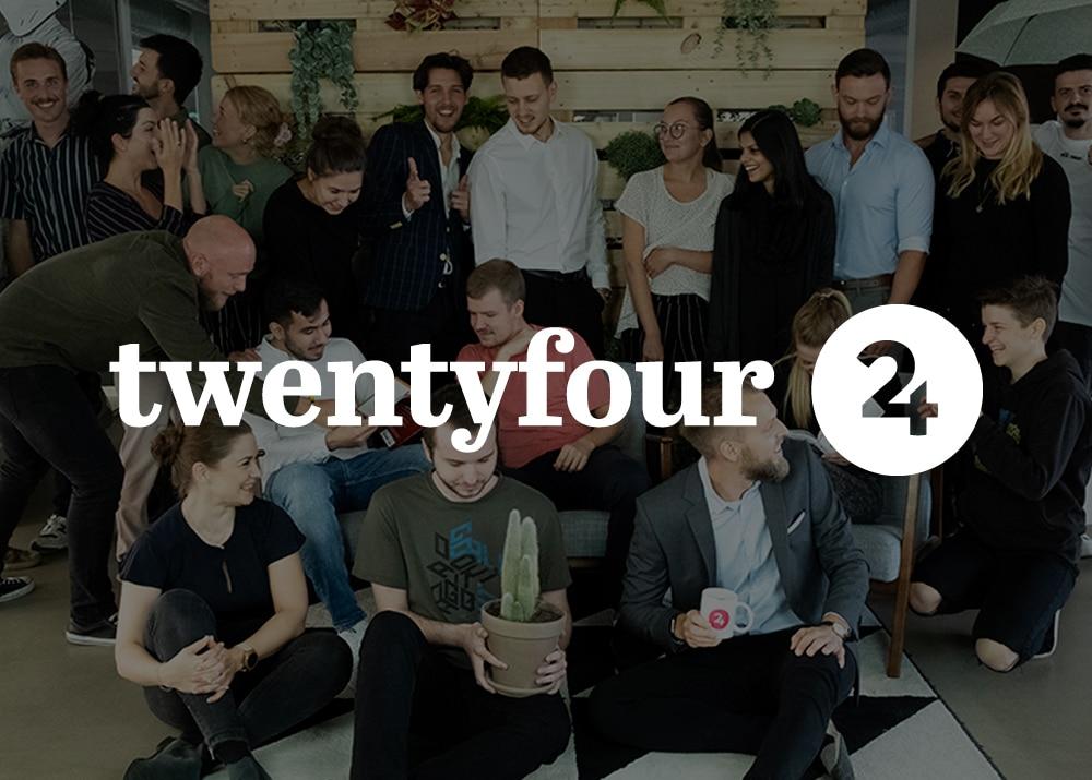 Image of the Twentyfour team